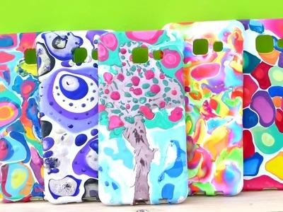 DIY 5 Nail Polish Phone Cases Ideas