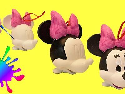 DIY Disney Minnie Mouse Christmas Tree Ornament