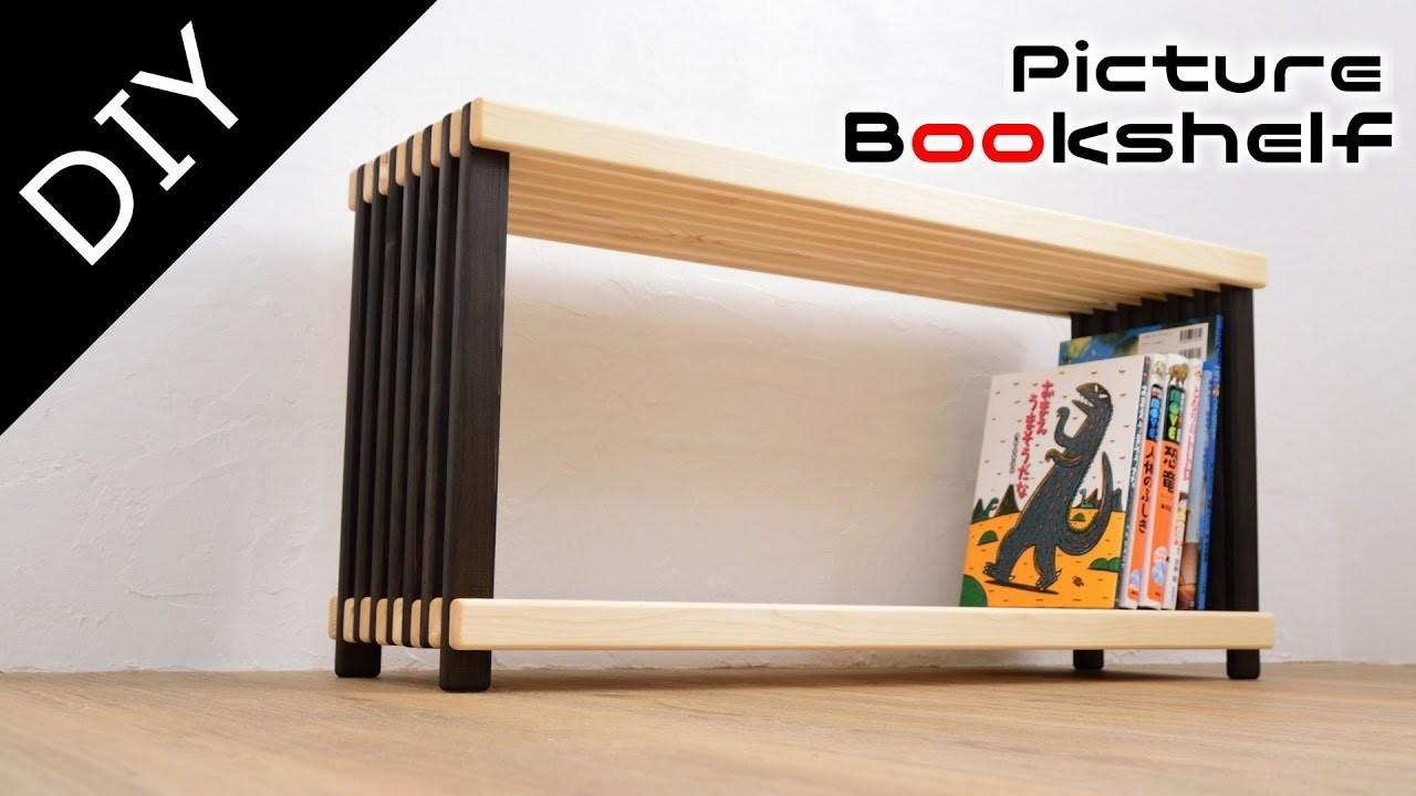 【DIY】Making child bookshelf