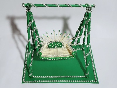 DIY Swing Jhoola | Matchstick and Paper Art | Craft Nifty Creations