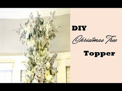 Dollar Tree Christmas Decor-DIY Wreath Centerpiece-12 Days of Christmas DIY-