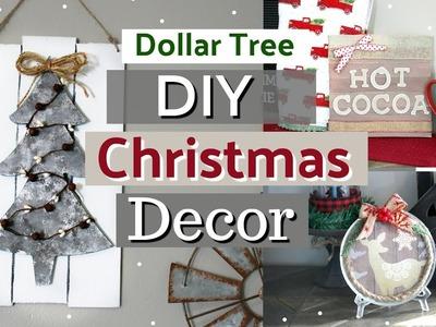 Dollar Tree Christmas Home Decor DIYS | Farmhouse Christmas Decor Ideas | Krafts by Katelyn