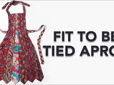 FREE Pattern: Fit To Be Tied Apron