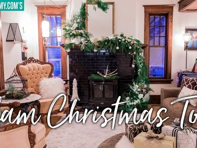 GLAM CHRISTMAS HOME TOUR 2018