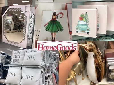 HOMEGOODS SHOP WITH ME! CHRISTMAS 2018