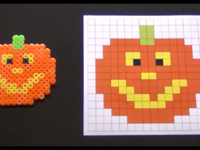 How to Make a Cute Perler Bead Jackolantern