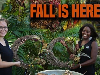 How to make a Fall Wreath - DIY Chicks