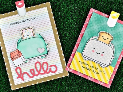 Intro to Let's Toast Pull Tab Add-On + 2 cards from start to finish