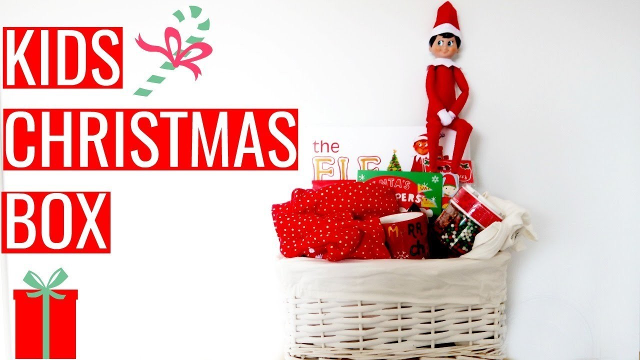 Christmas Eve Boxes Ideas.Kids Christmas Box Ideas Christmas Eve Box Elf On The Shelf