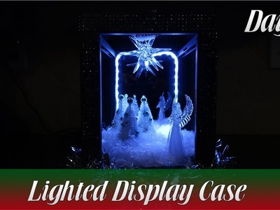 Lighted Display Case with Christmas Scene - Day 26 | How To