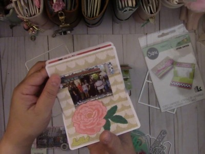 New Sizzix Gift Card Holder Pop Up Card ~ Mini Book