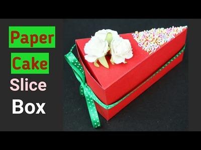 Paper Cake Slice DIY   Christmas DIYs   Ayushi Aditi Card Zone  