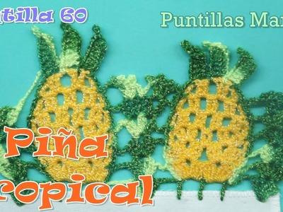 Puntilla 60   Piña Tropical #1   Puntillas Maribel