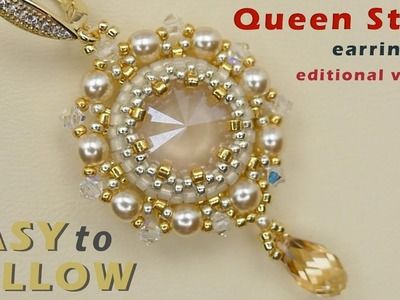 """Queen Style"" earrings editional version"