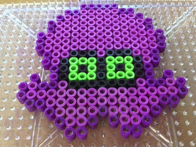 Splatoon: Octoling Perler Bead Pattern