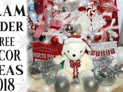 Under Christmas Tree Decorations 2018 Glam Tree Decorating Ideas????Must See!!