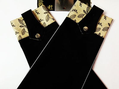 UNIQUE BEAUTIFUL SLEEVE DESIGN WITH BUTTON IN VERY EASY WAY