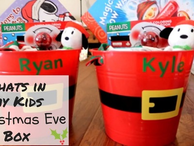 WHATS IN MY KIDS CHRISTMAS EVE BOXES | VLOGMAS DAY 7 | CHRISTINA COREY & CREW