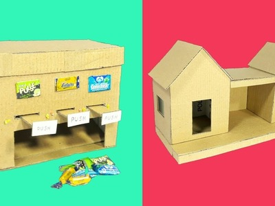 5 Amazing Best Out Of Waste Craft From Cardboard | Cardboard Crafts Idea | Cardboard Art And Craft