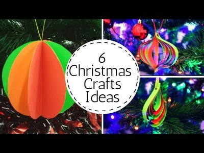 6 Easy and Cheap Christmas Ornaments | Quick Christmas craft ideas  #christmascraftsdiy |