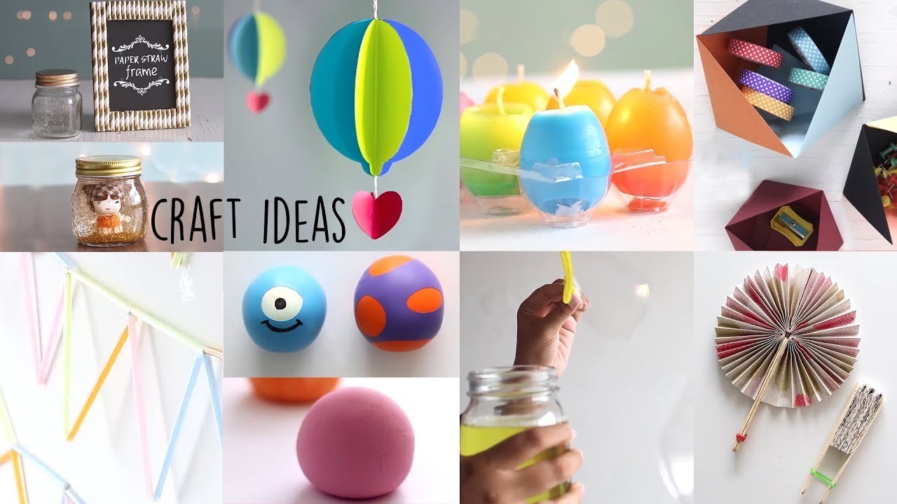 8 Best Craft Ideas | DIY Crafts | Ventuno Art