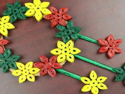 Amazing Craft Idea - How to Make Beautiful Door Hanging - Best reuse ideas - DIY arts and crafts