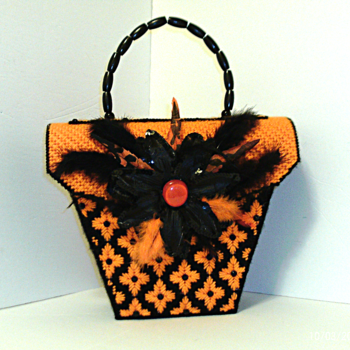Black and Orange Purse
