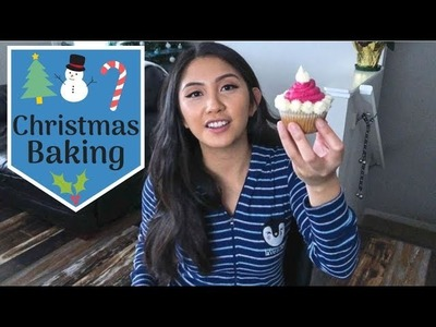 CHRISTMAS BAKING (Craft Factory)| Christmas Desserts | Cupcake Decoration Ideas