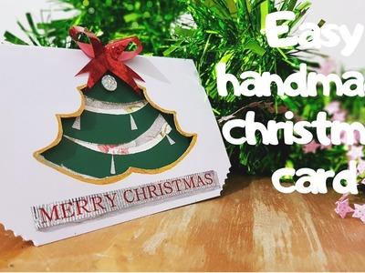 CHRISTMAS CARD IDEAS | STEP BY STEP TUTORIAL | CRAFT TUTORIAL | SEASONS GREETINGS