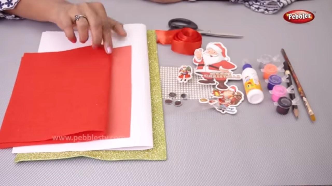 Christmas Greeting card | Christmas Art and Craft Ideas | Christmas Greeting Card Kaise Banaye