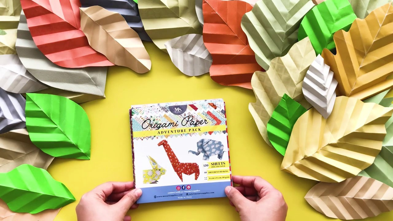 Create and Craft with Origami Adventure Set by MozArt Supplies