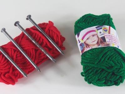 DIY-Art-and-Craft-With-Woolen-Threads | Unique-Craft-Idea