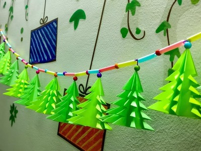 DIY Christmas Decoration || New Year Decoration using paper || DIY Room Decoration using paper