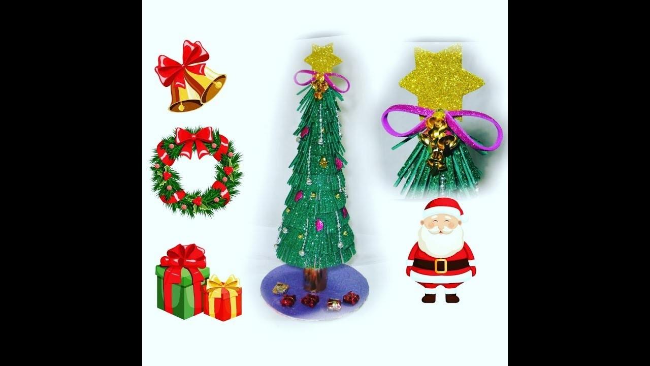 DIY Christmas tree | Christmas Decor |  Christmas Tree Making | smriti art and craft |