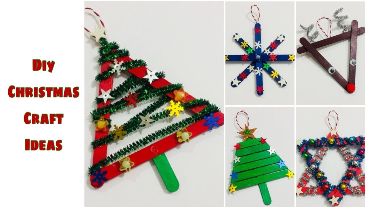 Diy Christmas tree ornaments | DIY Christmas Craft Idea |