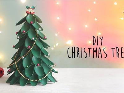 DIY Christmas Tree   Recycling Plastic Spoons Craft