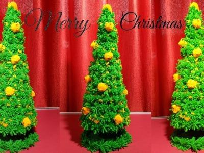 DIY christmas tree with wool | Christmas Decor | Christmas Tree Decorations Craft idea