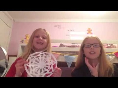 DIY Craft Ideas for kids - Paper Snowflakes