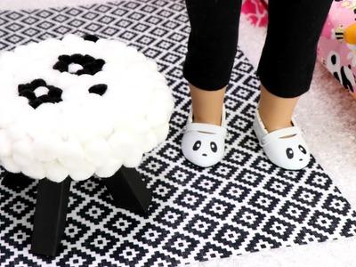 DIY Doll Bedroom Panda Chair & Crafts!