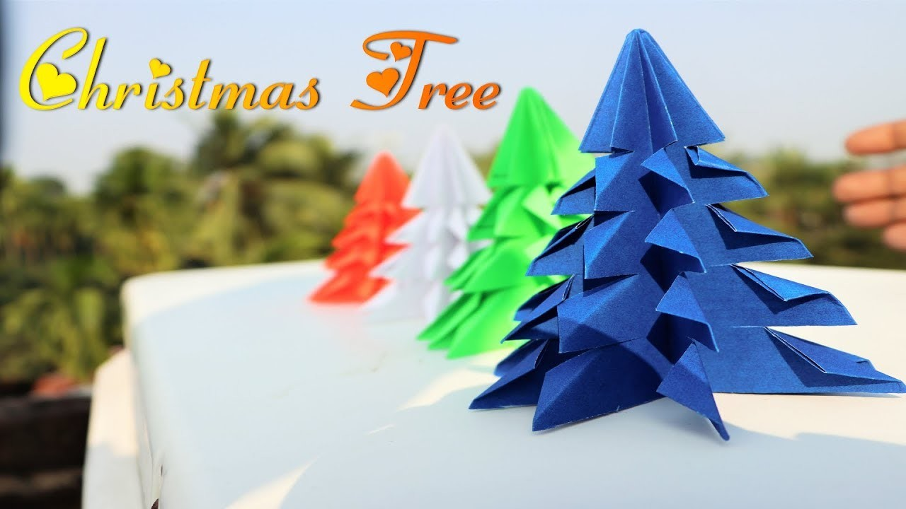 how to make easy christmas tree