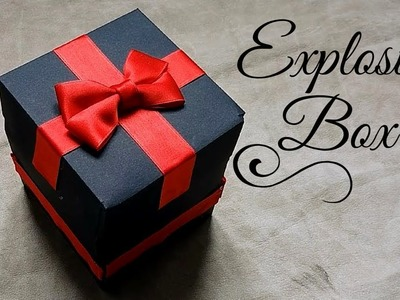 "#DIY I Best Birthday Gift  - ""Explosion Box""  I Best GIFT to give on BIRTHDAY I Surprise Gifts I"