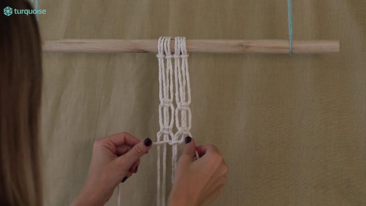 DIY Macrame Tutorial: Square Knot