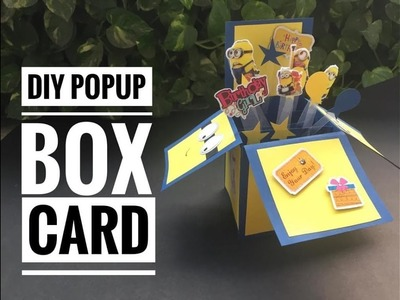 DIY popup card | How to make a Popup Card | Exploding Box |Easy crafts |  Soumya Dubey | 2018