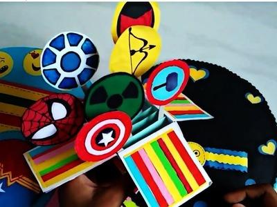 DIY Superhero themed scrapbook   Creative Gift Ideas   Creative Craft Ideas
