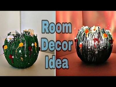 DIY Unique Idea Out Of Wool. Room decor Craft Idea: