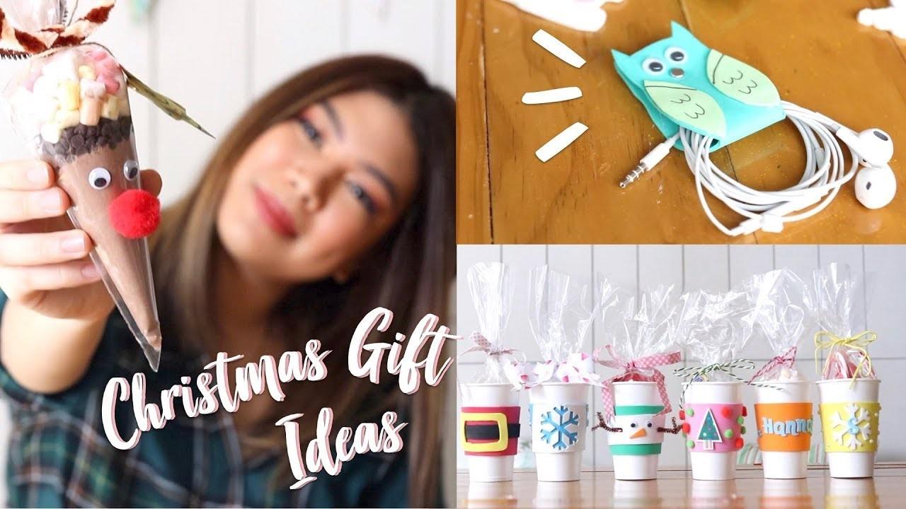 Easy.Affordable DIY Christmas Gift Ideas + GIVEAWAY! | Janina Vela