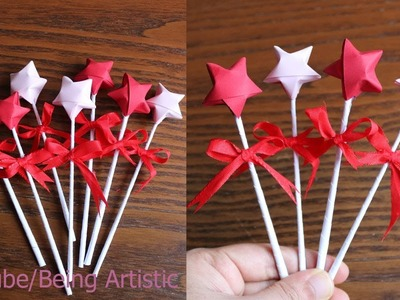 Easy way To Make 3D Paper Star - DIY Paper Craft