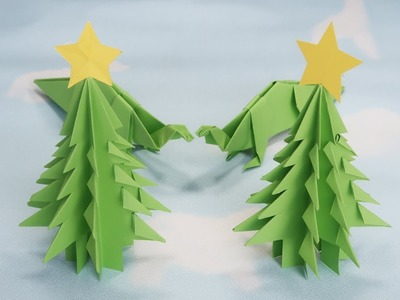 How to Make a Paper Christmas Tree - DIY Simple Paper Craft