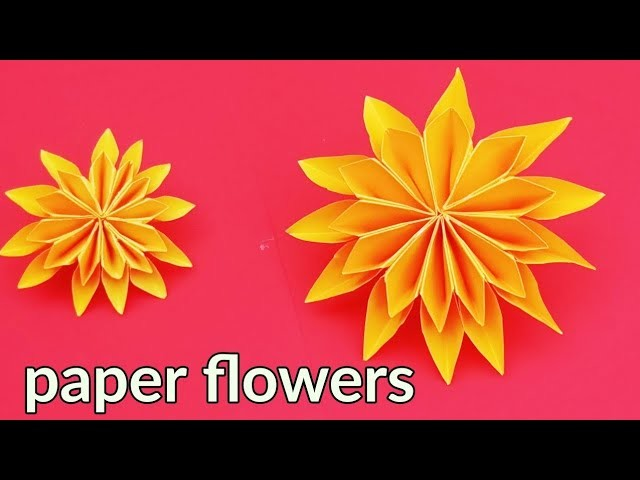 how to decorate your home with crafts how to make a paper flowers paper flowers craft ideas 13663