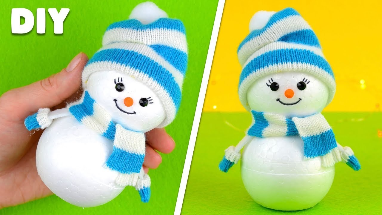 christmas crafts for toddlers how to make a snowman christmas craft for amp new year 10563